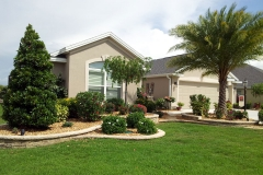 Stacked-Wall Landscaping - The Villages FL